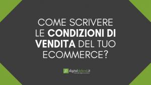 Condizioni generali di vendita e-commerce DIGITAL DEFEND