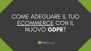 GDPR ECOMMERCE DIGITAL DEFEND