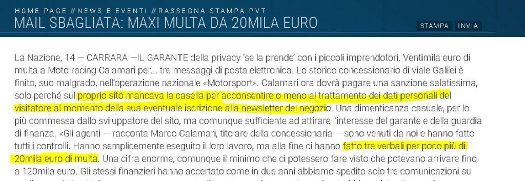 privacy e-commerce gdpr